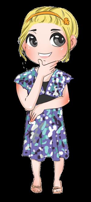 Kid cartoon character