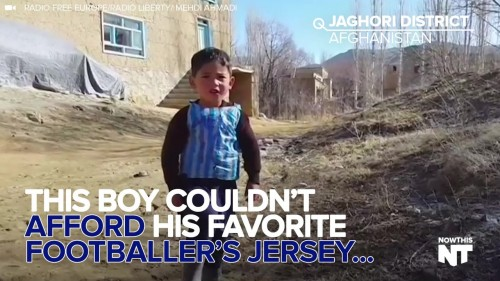 Soccer Fan Couldn't Afford A Jersey, So He Got Creative