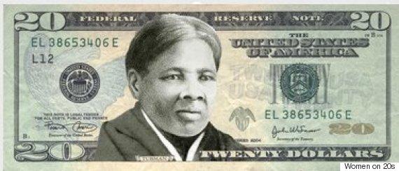 Harriet Tubman on new 20 dollar money