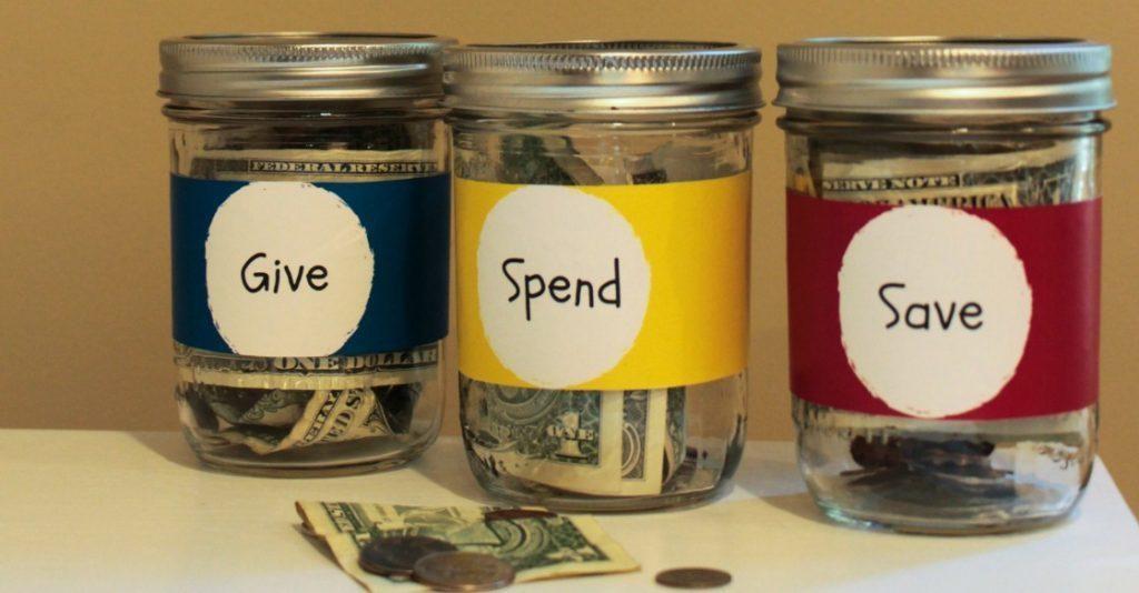 budgeting jars