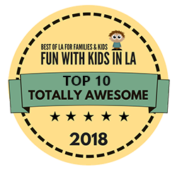 fun with kids in LA kids camp award