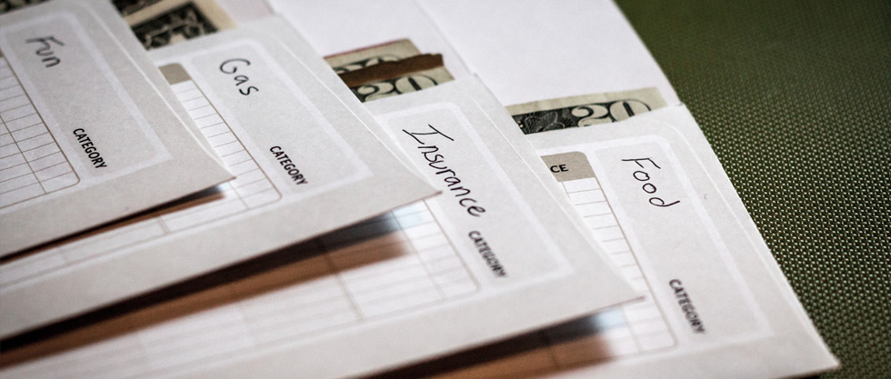Cash Envelopes with categories